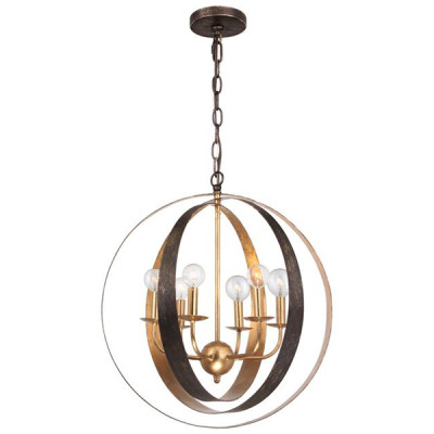 Luna-6-Light-Bronze-Gold-Sphere-Large-Chandelier-1-1