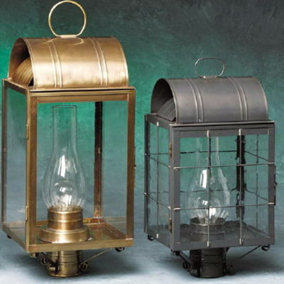 Colonial Exterior Post Lanterns