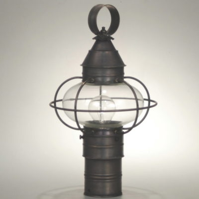 2501-C Caged Onion Post Lantern & Patti Bros Lighting and Furniture | Post Lanterns Boston Antique Brass azcodes.com