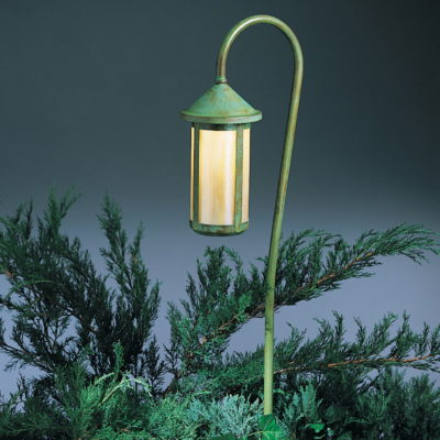 BB-7 Arts u0026 Crafts Landscape Lighting & Patti Bros Lighting and Furniture | Wall Lantern Heal Dark Brass azcodes.com