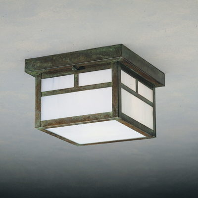 Arts & Crafts Exterior Flush Mount Lighting